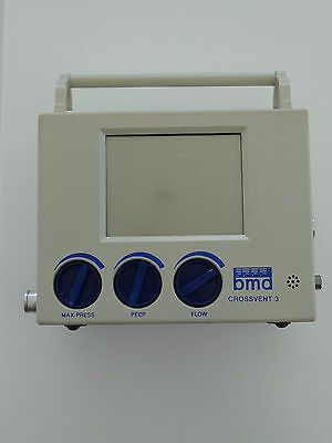 Bio-med Devices BMD Crossvent 3 patient ventilator