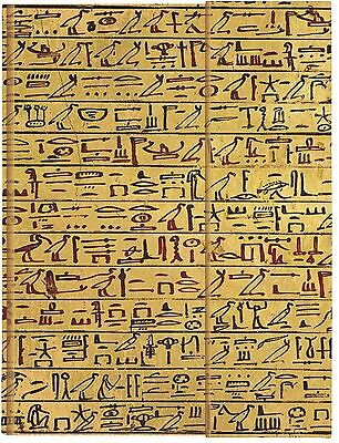 NEW Hieroglyphics Foldover Journal