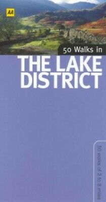 50 Walks in the Lake District by Bagshaw, Chris Paperback Book The Cheap Fast