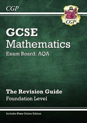 GCSE Maths AQA Revision Guide with online editi... by Parsons, Richard Paperback