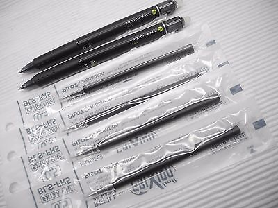 (2 PEN+4 REFILLS) PILOT Erasable FriXion 0.5mm roller ball pen Black