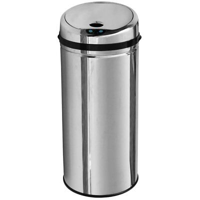 NEW BRIENZ 50L Automatic Sensor Trash Bin -S/Steel