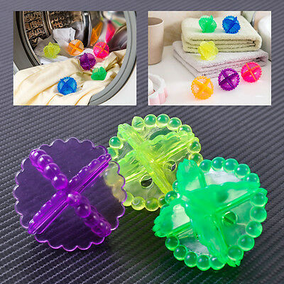 HOT ECO Washing Helper Laundry Dryer Ball Fabric Softener Cloth Cleaning Ball