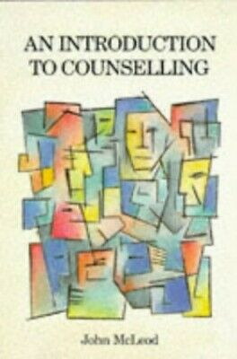 An Introduction to Counselling by JOHN MCLEOD Paperback Book The Cheap Fast Free