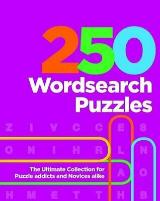 250 Wordsearch Puzzles (Puzzle Compendium) Book The Cheap Fast Free Post
