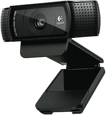 NEW Logitech HD PRO WEBCAM C920 1857536 Camera