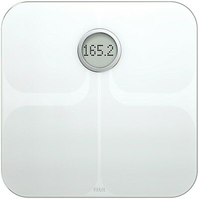 NEW Fitbit Aria Scale White XFB201W Weight Scales