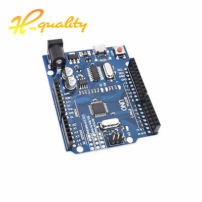 Latest Version UNO R3 ATMEGA328P-16AU CH340G Micro USB Compatible For Arduino