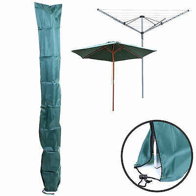165cm Rotary Washing Line Cover Clothes Airer Drier Waterproof Parasol Protect