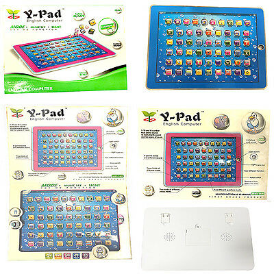 English Y Pad Educational Learning Machine Tablet Computer Toy Kids Children