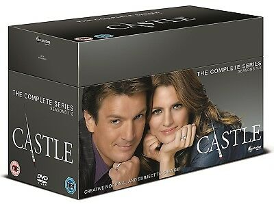 CASTLE 1-8 (2009-2016) COMPLETE Crime Writer TV Seasons Series NEW R2 DVD not US