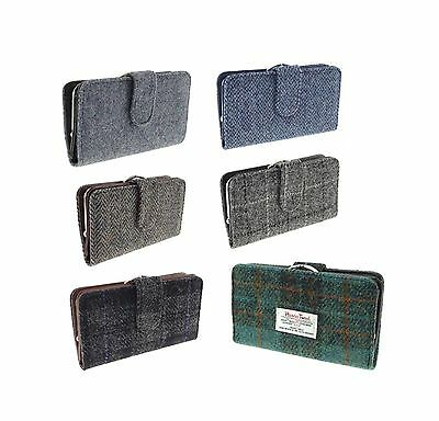 Authentic Harris Tweed Ladies Wallet/Purse Available In 6 Colour LB2001