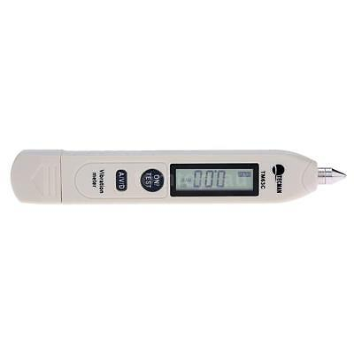 TM63C Digital Vibration Meter Acceleration//Displacement Measure X5Q4