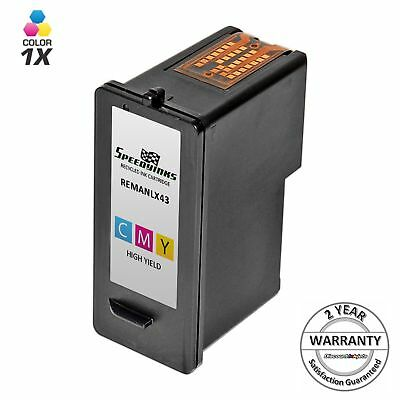 18Y0143 43XL 43 XL High Yield Color Printer Ink Cartridge for Lexmark