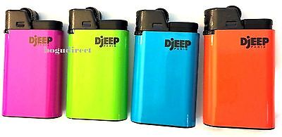 DJEEP large lighter Hot Body Neon colors 8 Pcs