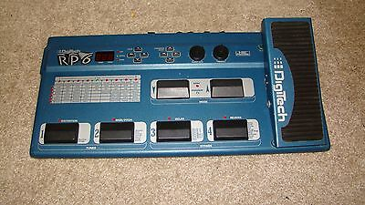 Digitech RP6 Guitar Multi Effects Signal Processor exellent working order