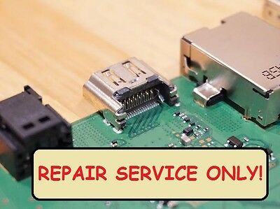 Sony Playstation 4 PS4 HDMI Port Socket Jack Replacement repair Service