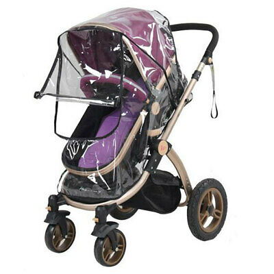 Baby Stroller Universal Buggy Rain Cover/Mosquito/Wind/ Transparent Pram Cover