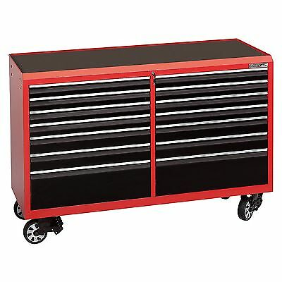 Draper Expert Tool Cabinet With 14 Drawers And Castors (64 Inches Long) - 43937