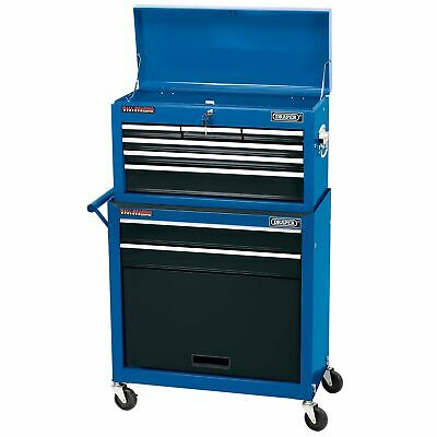 Draper Two Drawer Roller Cabinet And Six Drawer Tool Storage Chest - 51177