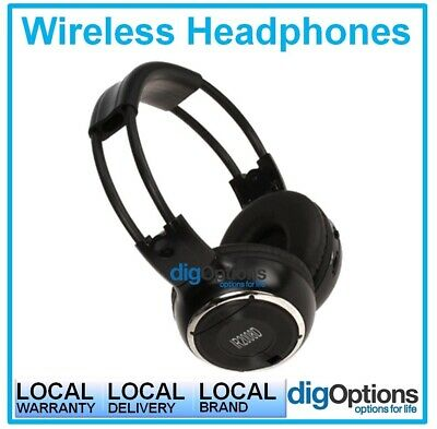 (Wireless IR Headphones Ford Territory OEM Genuine Fitted Roof Mount DVD Systems