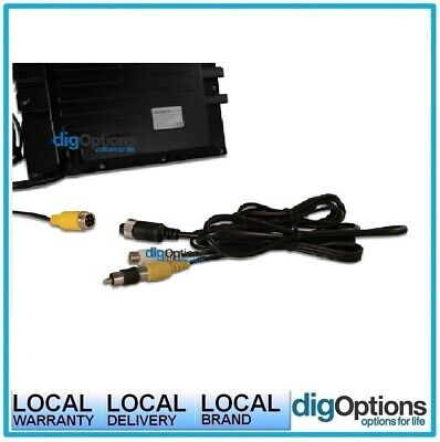 +4-Pin Adapter Female to Male RCA Camera to Extension Cable Aviation