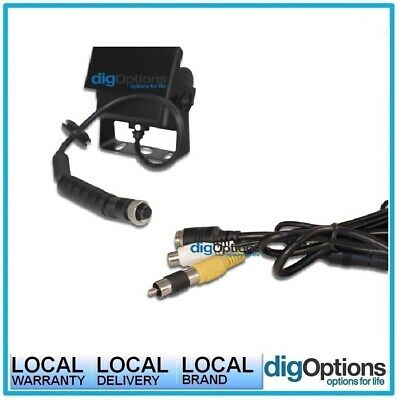 [Adapter 4-Pin Male to RCA Female RCA Camera to Extension Cable Aviation