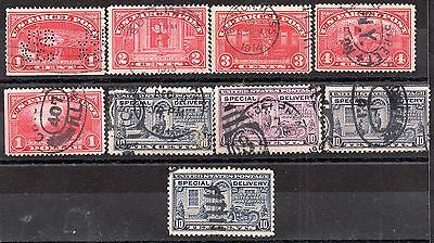 US parcel post and special delivery collection unchecked ZZ1772