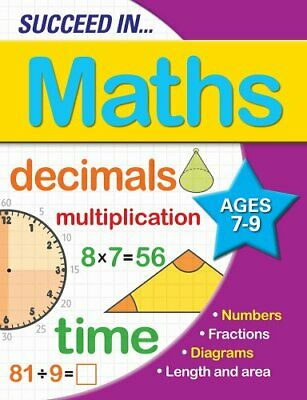 Succeed in Maths 7-9 Years, Arcturus Publishing Book The Cheap Fast Free Post