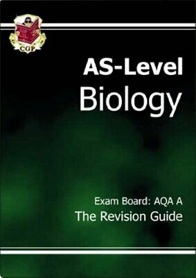 AS-Level Biology Revision Guide (AQA A) by CGP Books Paperback Book The Cheap