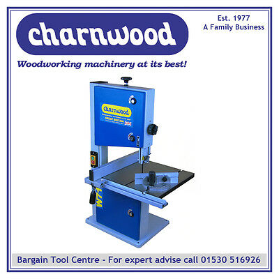 CHARNWOOD W715 10'' Woodworking Bandsaw with Cast Iron Table