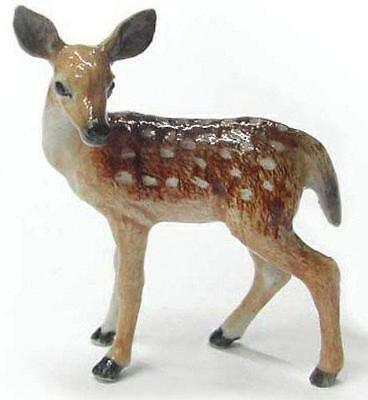 Northern Rose Miniature Porcelain Animal Figure Deer Fawn Standing R201
