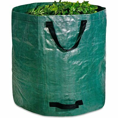 Garden Waste Bag Heavy Duty Strong Sack Rubbish Grass Leaves Durable Large 272L
