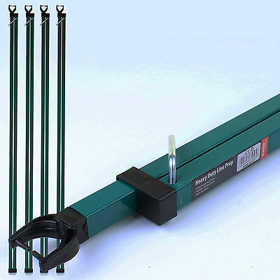 2.5M Heavy Duty Line Prop Outdoor Washing Line Pole Extending Telescopic Support
