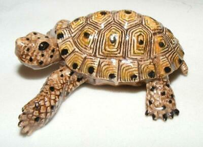 Northern Rose Miniature Porcelain Animal Figure Desert Tortoise R175