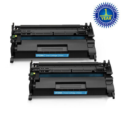2PK For HP Laserjet Pro MFP M426fdw M402n CF226A 26A High Yield Toner Cartridge