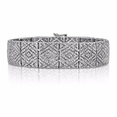 Natalia Drake 1.00 Cttw Diamond Shaped Tennis Bracelet