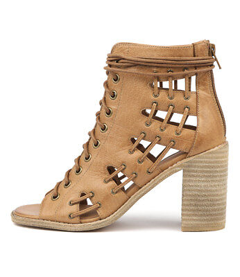 New Mollini Jayman Tan Womens Shoes Casual Sandals Heeled