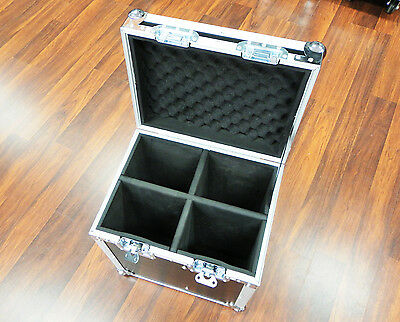 Road Case 4 Compartments - Packer/Leads/Display Case