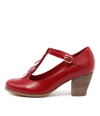 New I Love Billy Delfin Red Womens Shoes Casual Shoes Heeled