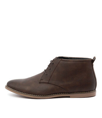 New Uncut Moray Chocolate Mens Shoes Casual Boots Ankle