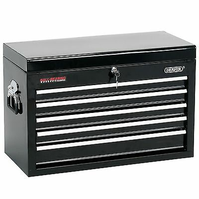 Draper 5 Drawer Black Steel Garage/Workshop Work Tool Storage Chest - 80221