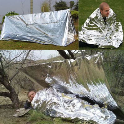 Supervivencia Emergencia Rescatar Manta Termica Calor Emergency Surviva Blanket