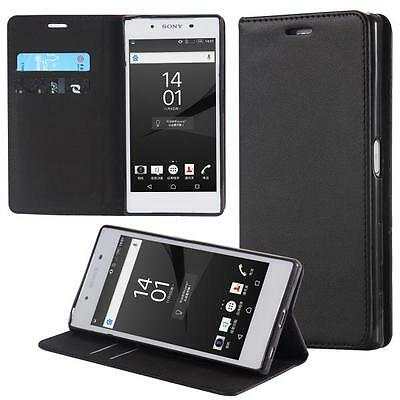 Sony Xperia Z5 Compact Phone Case Flip Cover Wallet Bumper Sleeve Protect Pouch
