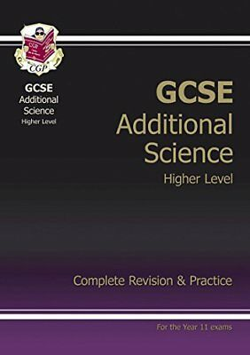 GCSE Additional Science Complete Revision & Practice, CGP Books Paperback Book