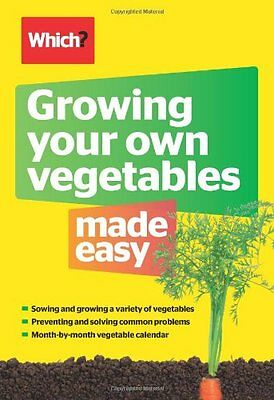 Growing Your Own Vegetables Made Easy (Which?), Steve Mercer Book The Cheap Fast