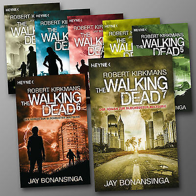 im SET: THE WALKING DEAD (Band 1-8) | Robert Kirkman | Romane zur Serie (Buch)
