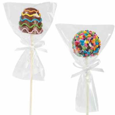 Wilton 12 Pack Single Pop Bag Wrappers Candy Making Cake Baking Sweet Decorating