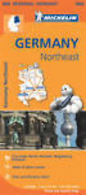 Michelin Map 542 Germany North East Regional