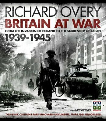 IWM: Britain at War 1939-1945 by Richard Overy Book The Cheap Fast Free Post